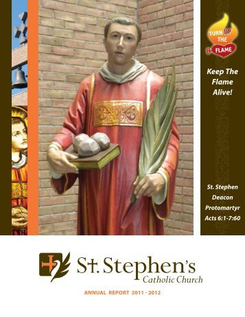 Keep The Flame Alive! - Church of St. Stephen