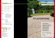 PFLASTERSTEINE - H. Geiger GmbH Stein