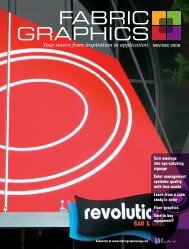 Fabric Graphics, November December 2009, Digital Edition