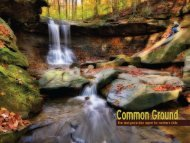 Common Ground The land protection report for northern Ohio
