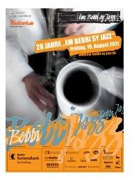 Wir haben für Sie die richtige Lösung im Bereich - Em Bebbi sy Jazz