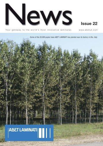 Abet Newsletter Issue 22 - ABET LTD