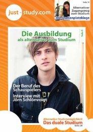 Das Magazin Ausgabe 2/2011 zum Download - Just-Study