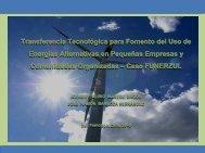 Sistema ecológico integral de EERR eólico y solar - AHK Venezuela