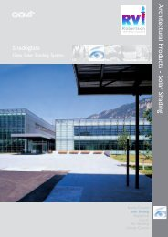 Architectural Products  Solar Shading - Robventind.co.za