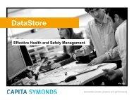 DataStore Information Booklet - Capita Symonds