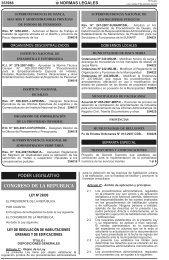Ley N° 29090 - Municipalidad de La Molina