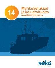 Merikuljetukset ja kalustohuolto alusöljyvahingossa - Kymenlaakson ...