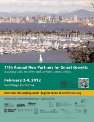 NP12 reg brochure-email2.qxd - New Partners for Smart Growth ...