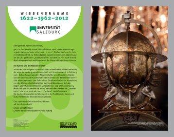 SALZBURG UNIVERSITÄT - Universitätsbibliothek - Universität ...