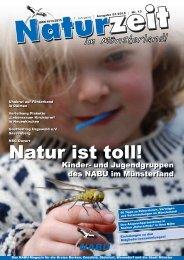An die Redaktion der NATURZEIT im Münsterland - NABU ...