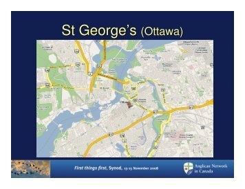 St George's (Ottawa) - Anglican Network in Canada