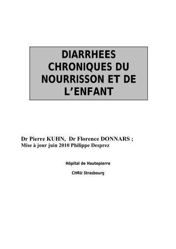 Diarrhée chronique orien