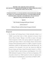 adjudication order no. ead-2/ao/55/2012 - Securities and Exchange ...