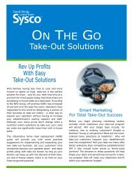 On The Go Take-Out Brochure 2009 Portrait.cdr