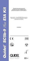 SC5b-9 Plus EIA Kit - Quidel Corporation