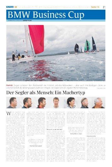 """DiePresse"" from Thursday, 31.5.2012 - Pitter Regatten 2011"