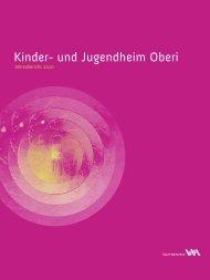Jugend- und Kinderheim Oberwinterthur: Jahresbericht 2010