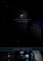 Prospekt Classic-Line 2013 - Electrocompaniet