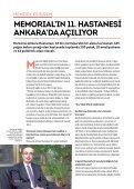 MEMorIaL'In 11. HASTANESİ anKara'Da AÇILIYOR - Page 6