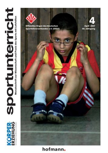 Deutscher Sportlehrerverband eV (DSLV) - Hofmann Verlag