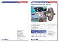 High Power HPC Series Datasheet - Quality Hydraulics Ltd