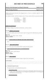 August 26 Minutes - Pickerington Local School District
