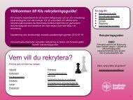 Välkommen till KIs rekryteringsguide! - Internwebben - Karolinska ...