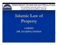 Conceptual Framework of Zakat