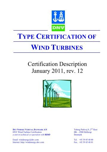 Certification Description - DNV Kema