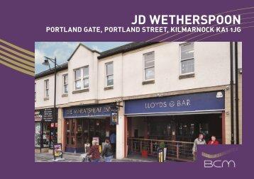 JD WETHERSPOON - Propex