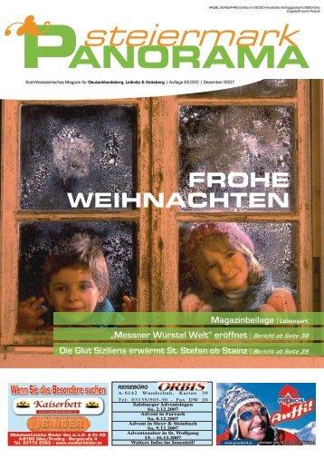 Ausgabe 10/07 - Steiermark Panorama