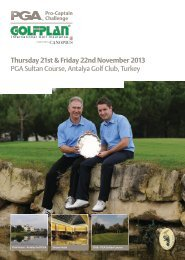 Entry Form - The PGA