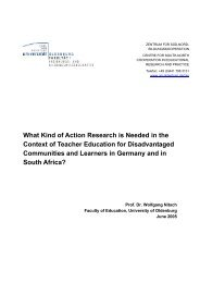 What Kind of Action Research is Needed in the Context of Teacher ...