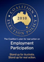 Employment Participation Policy