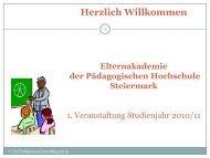 Von der Problemsprache zur Lösungssprache - Elternakademie