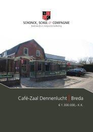 Café-Zaal Dennenlucht | Breda - Schonck, Schul & Compagnie