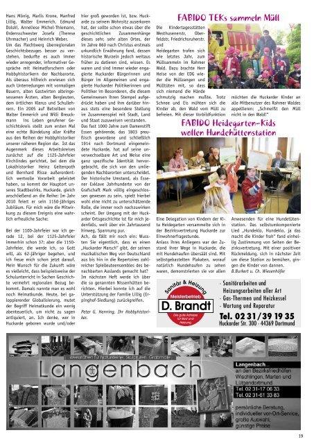 Konfirmationen - Dortmunder & Schwerter Stadtmagazine