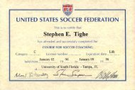 UNITED STATES SOCCER FEDERATION - Voices of September 11th