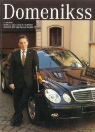 Domenikss žurnāls 2008 - Mercedes-Benz Latvija