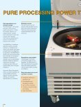 pure kneewell processing power heraeus® multifuge® 4 kr - Page 4