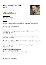 Sanja Goldberg (Krpic), PhD - Agricultural Research Organization