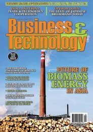 BIOMASS ENERGY - Asia-Pacific Business and Technology Report