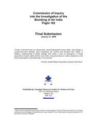 Final Submission - Canadian Resource Centre for Victims of Crime