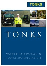 Tonks Recycling Brochure - Esh Group