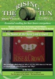 Rising tun - Swindon CAMRA