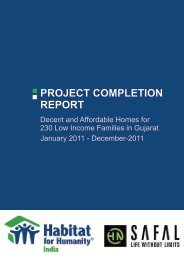 project completion report - HN Safal