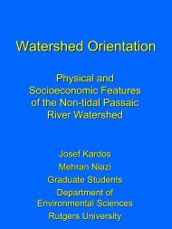 Watershed Orientation, Physical and Socioeconomic Features of the ...