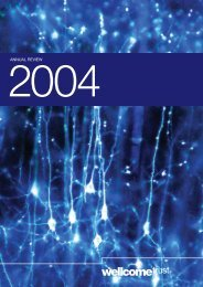 Annual Review 2004 - Wellcome Trust