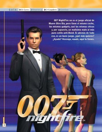 Descargar 007 Nightfire - Mundo Manuales